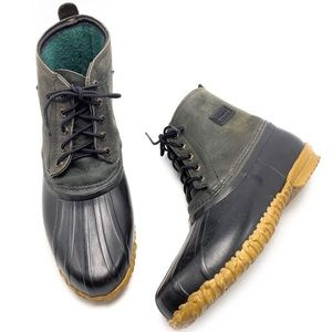 Sorel Canada Natural Rubber Ankle Duck Boots